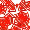 plastiklips | pfeilklip rot – design kurt lorber