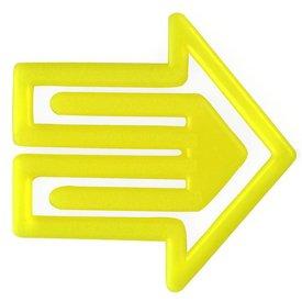 laurel plastiklips | pfeilklip gelb