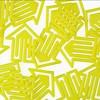 plastiklips | pfeilklip gelb – design kurt lorber