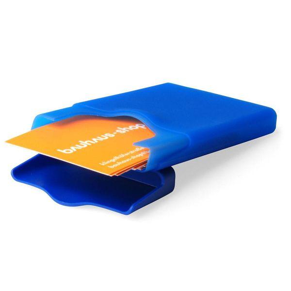 +d hiby geschäftskartenhalter   blau – design sin-ichi sumikawa