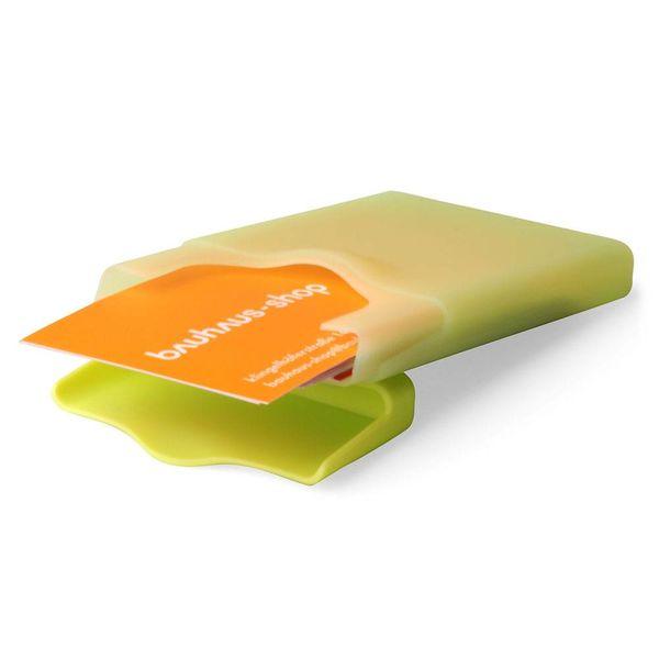 +d hiby visitenkartenhalter   grün – design shin-ichi sumikawa