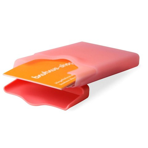 hiby visitenkartenhalter   pink