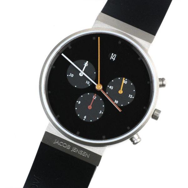 jacob jensen armbanduhr jacob jensen | 600 chronograph – design timothy jensen