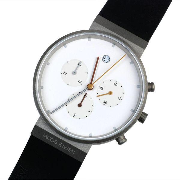 jacob jensen armbanduhr jacob jensen | 601 chronograph – design timothy jensen