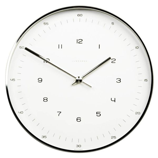 junghans wanduhr max bill | zahlenblatt groß – design max bill