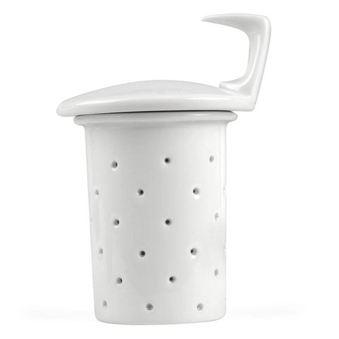 tac sieb+siebdeckel für teekanne 1,35 l | weiß