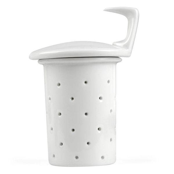 rosenthal tac sieb+siebdeckel | weiß (für die große teekanne) – design walter gropius