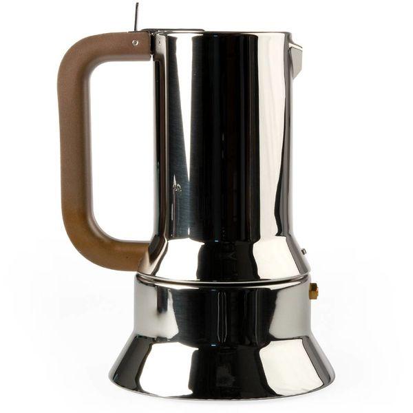 alessi 9090 espressokanne | 6 tassen – design richard sapper