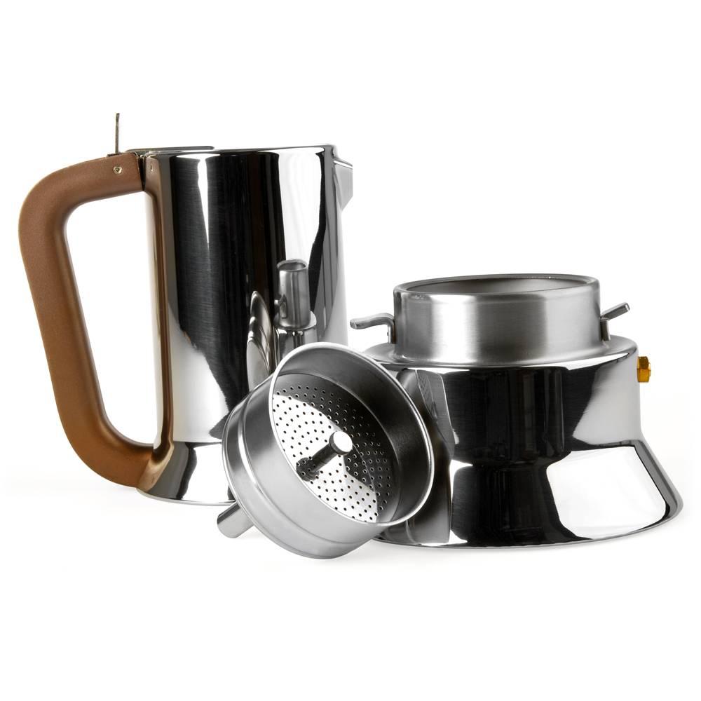 9090 espressokanne 6 tassen design richard sapper. Black Bedroom Furniture Sets. Home Design Ideas