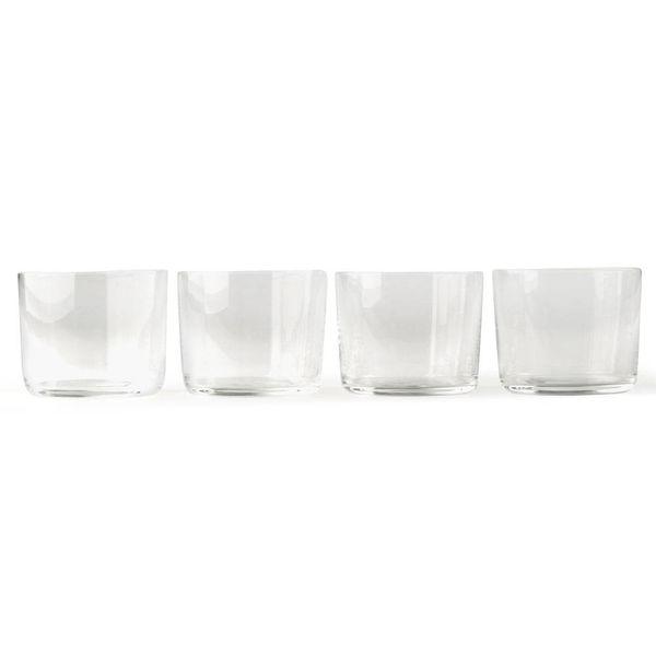 alessi glass family | rotwein 4 stück – design jasper morrison