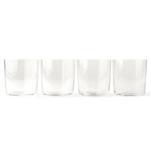 alessi glass family | wasserglas 4 stück – design jasper morrison