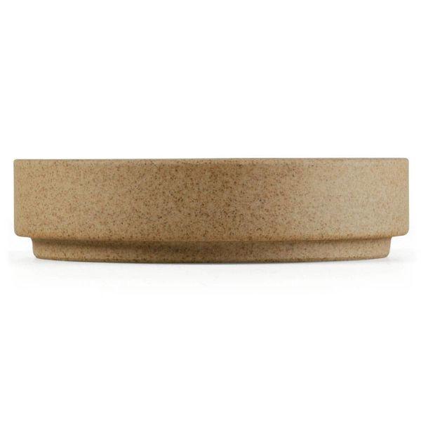 hasami hasami teller/deckel Ø 8,5 cm | sand – design takuhiro shinomoto