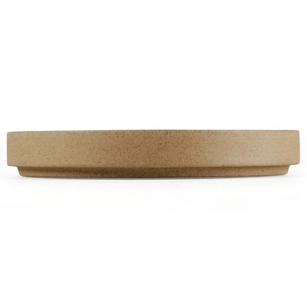 hasami hasami teller/deckel Ø 14,5 cm | sand – design takuhiro shinomoto