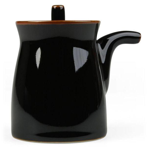 hakusan porcelain g-type soyasaucen kännchen | schwarz – design sori yanagi