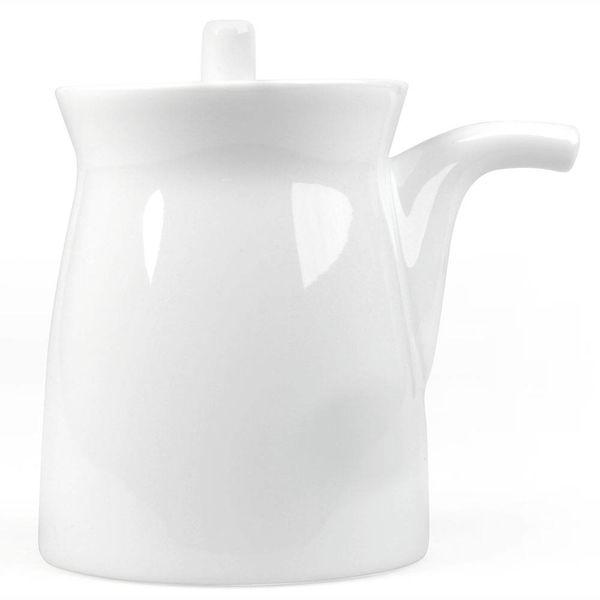 hakusan porcelain g-type soyasaucen kännchen | weiss – design sori yanagi