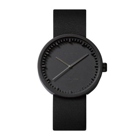 tube watch | schwarz, ø 38 mm