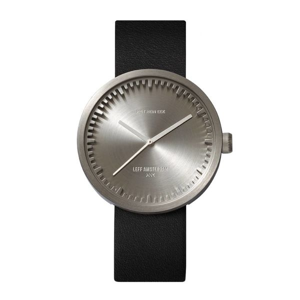 leff tube watch | stahl, ø 42 mm – design piet hein eek