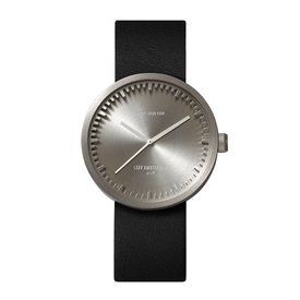 leff tube watch | stahl, 38 mm