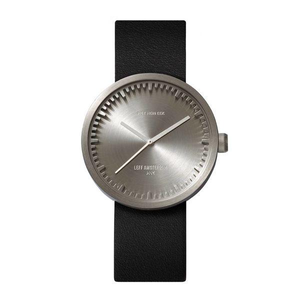 leff tube watch | stahl, ø 38 mm – design piet hein eek