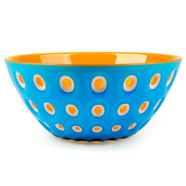 guzzini le murrine schale | blau-orange – design pio+tito toso