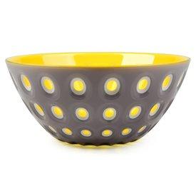 guzzini le murrine schale | grau-gelb