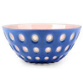 guzzini le murrine schale | 25 cm blau-pink