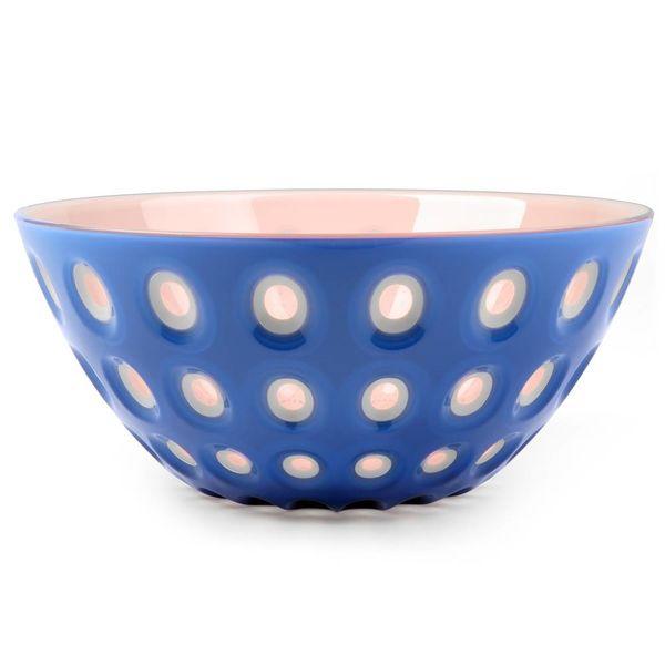 guzzini le murrine schale | blau-pink - design pio+tito toso