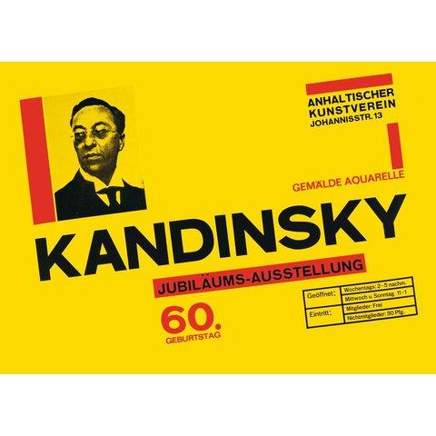 poster: kandinsky 60. geburtstag