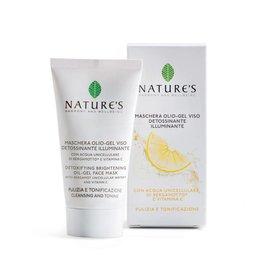 Nature's Zuiverend olie-gel gezichtsmasker