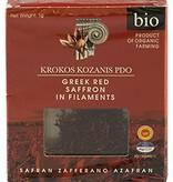 Krocus Kozanis Biologisch geteelde rode saffraan in draadjes