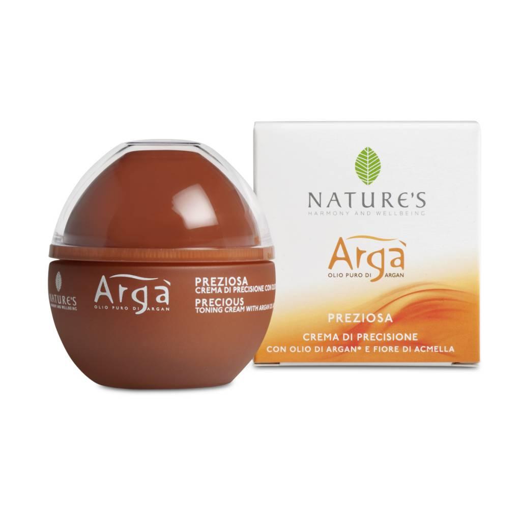 Nature's Arga Precious - Verstevigende dag/nachtcrème met Argan olie