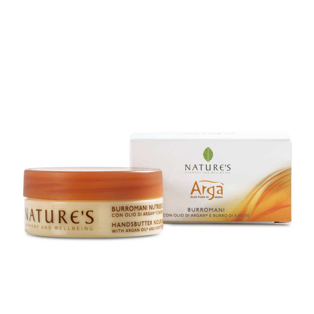 Nature's Handcrème met Argan olie