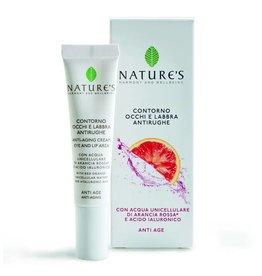 Nature's Anti-age crème voor oog- en lipcontouren