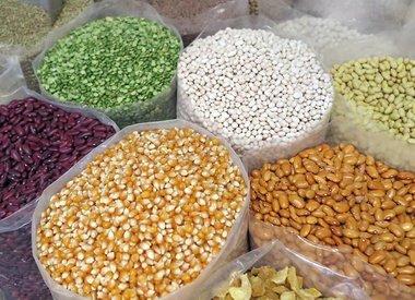 Rijst, granen & peulvruchten