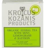 Krocus Kozanis Biologische saffraan thee met munt en citroengras