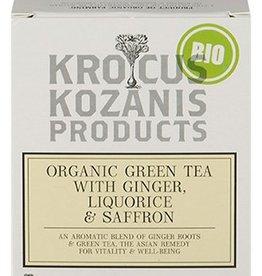 Krocus Kozanis Saffraan thee met zoethout en gember