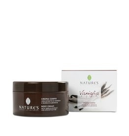 Nature's Bodycrème met vanille extract