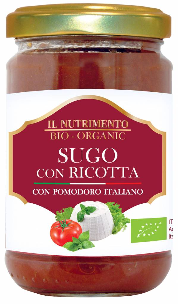 Il Nutrimento Tomatensaus met ricotta - glutenvrij