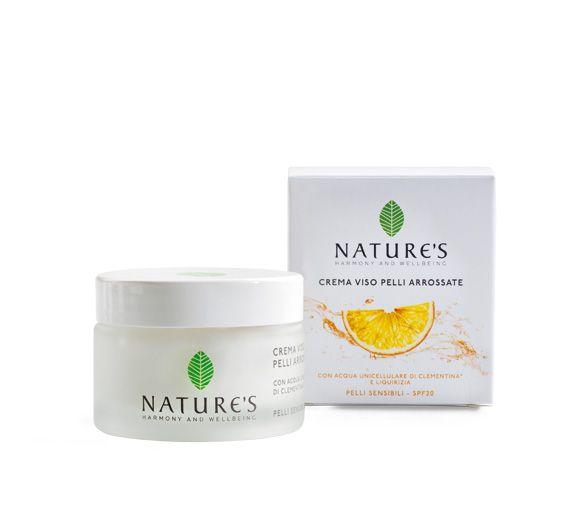 Nature's Gezichtscrème voor de gevoelige huid met zonnefilter SPF20