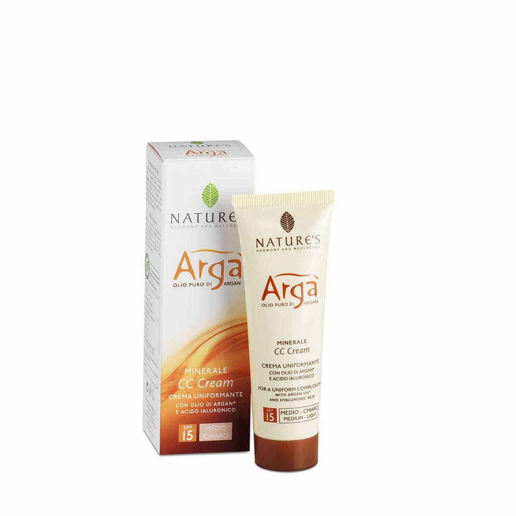 Nature's CC Cream met Argan olie - Medium