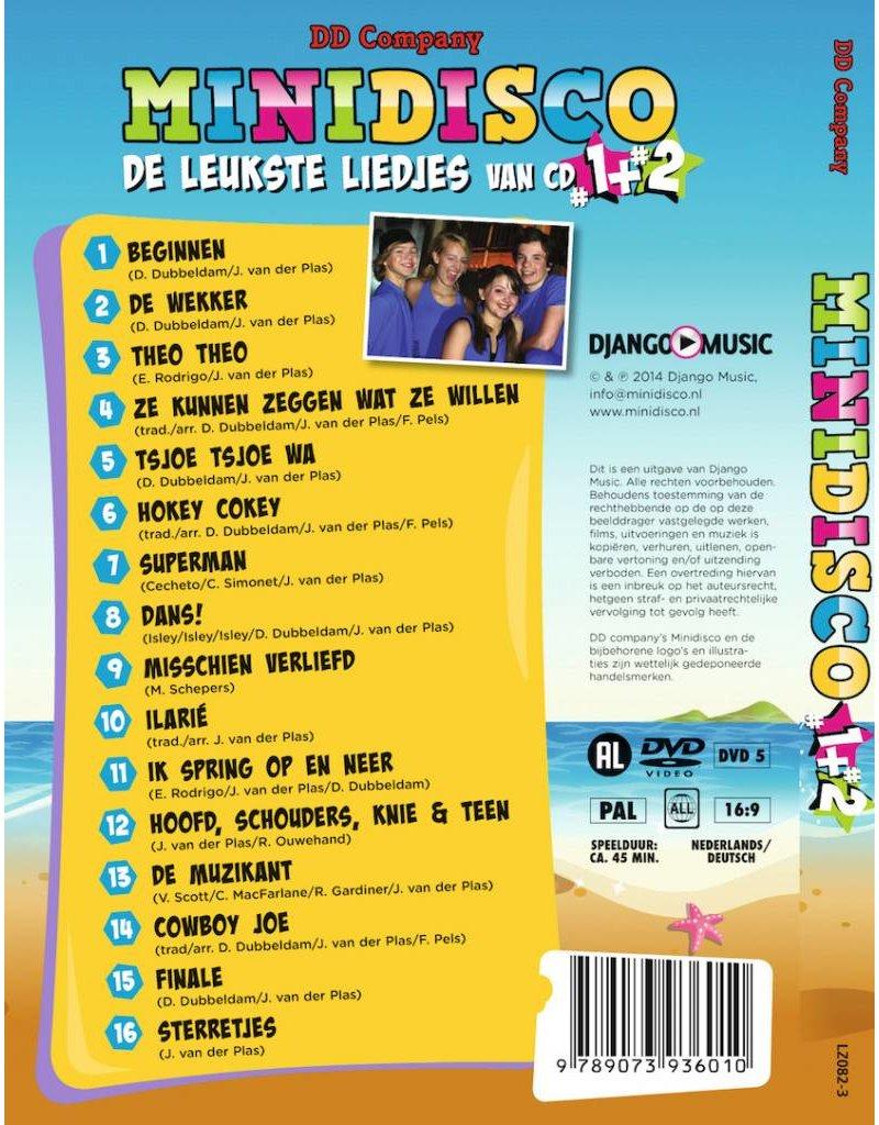 Minidisco DVD #1 en #2-Minidisco 1 y 2 DVD