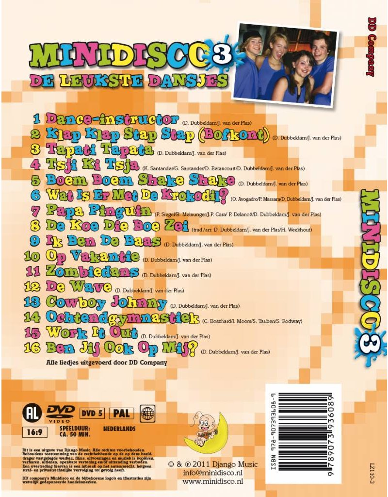 Mini Disco DVD #3