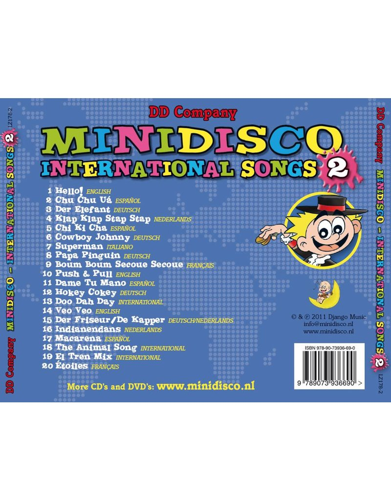 Minidisco International Songs CD #2-Minid.Canc.Inter.