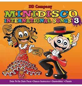 Minidisco international Songs CD # 3