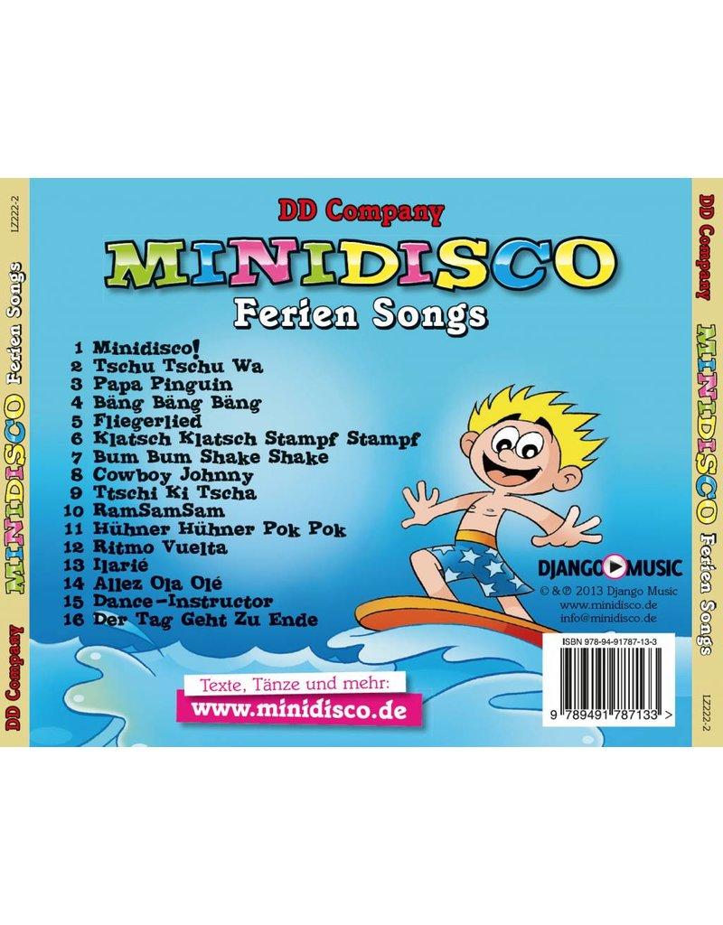 Minidisco Ferien Songs (Duitse vakantieliedjes)