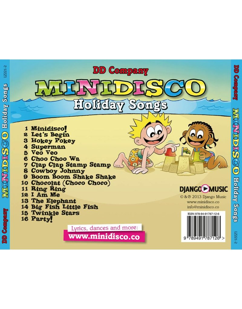 Minidisco Holiday Songs English CD