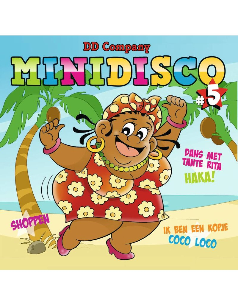Minidisco Dutch songs CD #5