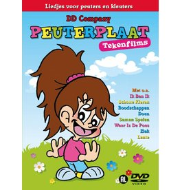 Peuterplaat - chansons et dessins animés néerlandais DVD