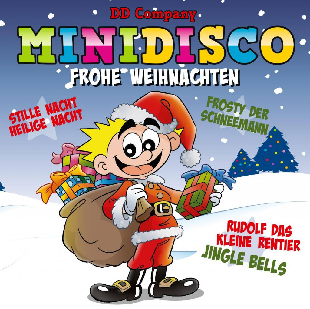 minidisco frohe weihnachten german cd minidisco english. Black Bedroom Furniture Sets. Home Design Ideas