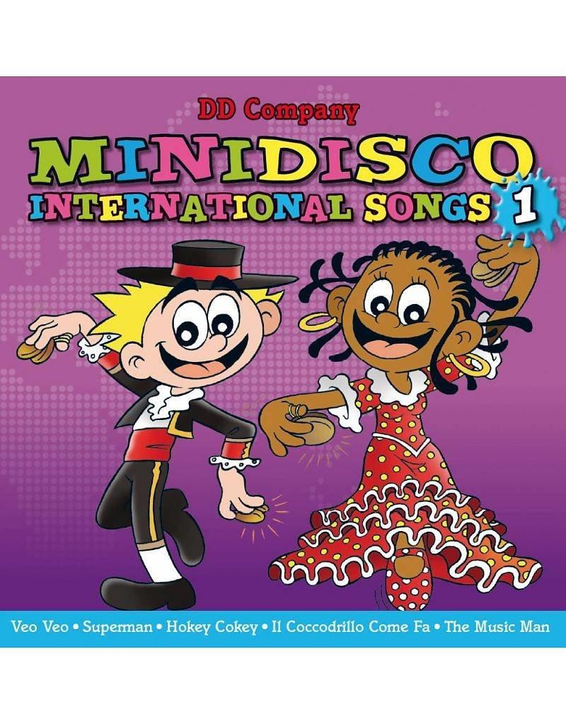 internationales Minidisco-Set